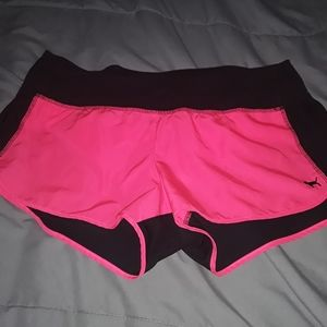 VS Pink running shorts